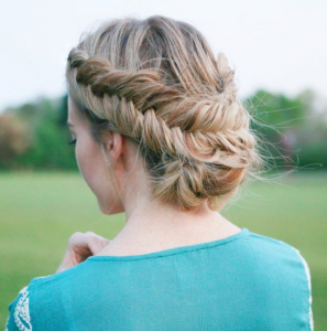 Double Dutch braid. Image credit: missysueblog -Instagram