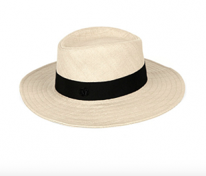 Maison Michel Straw Hat, Image Credit: selfridges.com