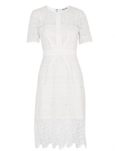 White lace dress by Whistles. Image credit: whistles.com