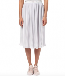 Pleated skirt by Oliver Bonas. Image credit: oliverbonas.com