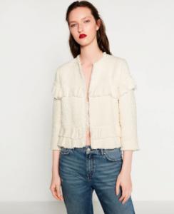 This Zara jacket is in the sale, get it here. Image credit: zara.com
