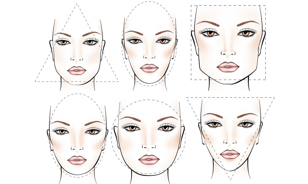 Women Face shapes
