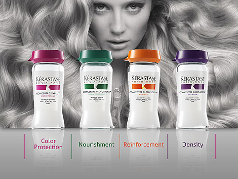 Kerastase hair treatment