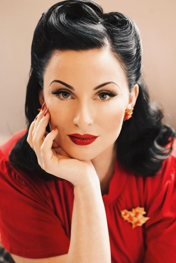 1940's Theme Party Hair Inspiration